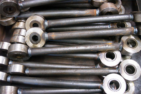 Push Rods With Pressed in Hardened Bushes